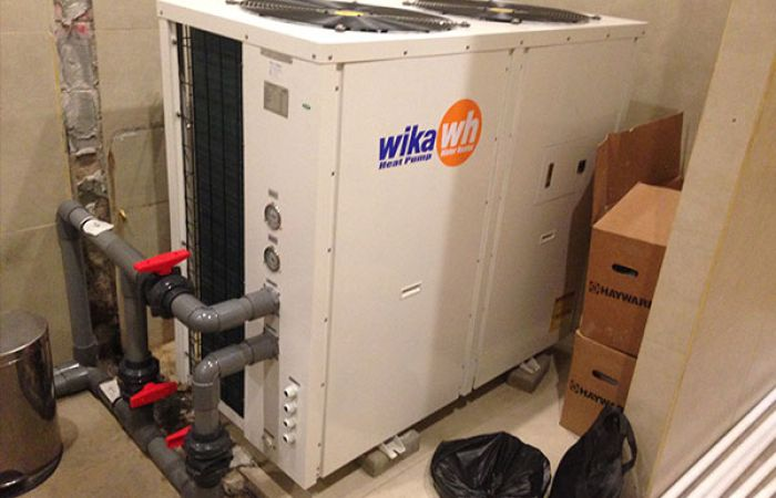 Wika Heat Pump Water Heaters Rock Star Gym rock star gym